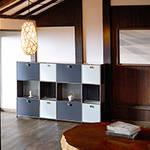 USM|丸の内のUSMショールームが日本の冬景色を表現したディスプレイに