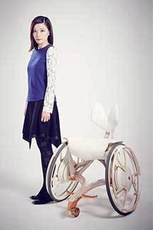 YAMAHA ソマルタ廣川玉枝氏とのコラボで車椅子のコンセプトモデルを発表