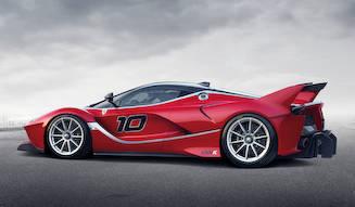 サーキット専用モデルFXX Kを公開|Ferrari