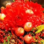 米・植民地時代に思いを馳せるクリスマスデザイン|FLORALUXE