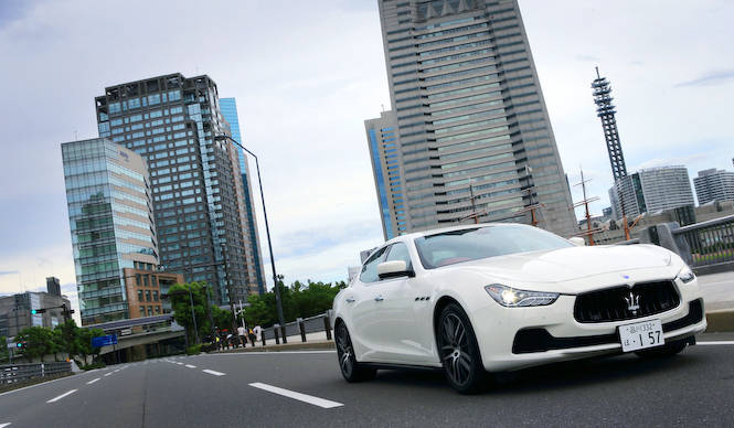 マセラティ ギブリに試乗|Maserati