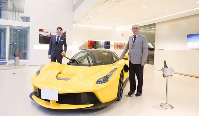 ラ フェラーリ国内第一号車が納車。デリバリーはじまる Ferrari