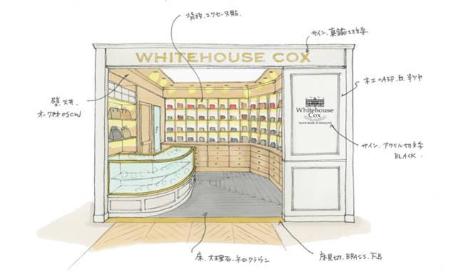 ホワイトハウスコックスのショップインショップが誕生|UNITED ARROWS