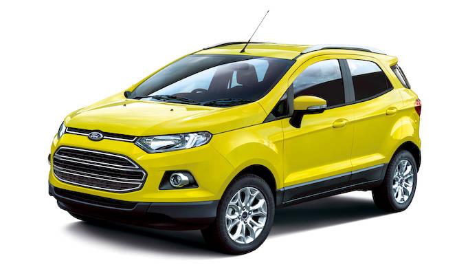 鮮やかなイエローを纏うエコスポーツの特別仕様車|Ford