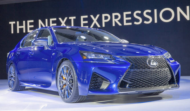 レクサス最新のFシリーズとなるスポーツセダン、GS Fをデトロイトで初公開 Lexus