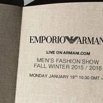 エンポリオ アルマーニのショーをライブストリーミング|EMPORIO ARMANI