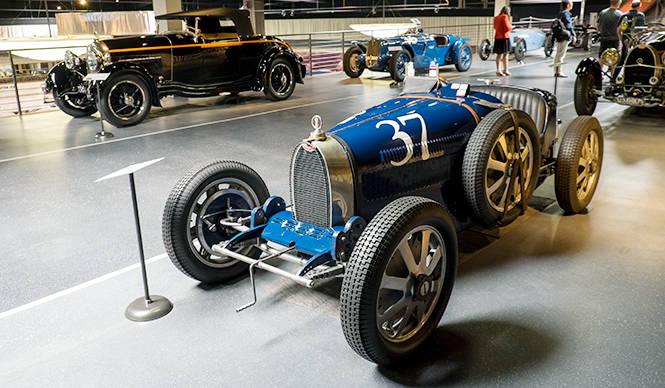 ブガッティ特別展、カリフォルニアの自動車博物館で開催中 Bugatti