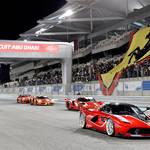 フェラーリ最大のレーシングイベントがアブダビで開催|Ferrari
