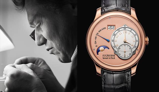 孤高の時計職人F.P.ジュルヌが2015年の新作発表 F.P.JOURNE