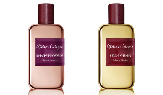 彼と彼女のゴールドに輝くボトルに秘めたあらたな香りのストーリー|ATELIER COLOGNE