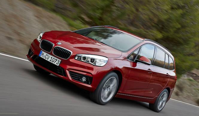 BMWがつくるミニバンは、7人乗りの2シリーズ グランツアラー BMW