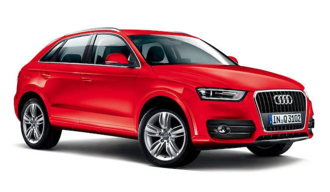 アウディQ3に色あざやかな特別限定モデル Audi