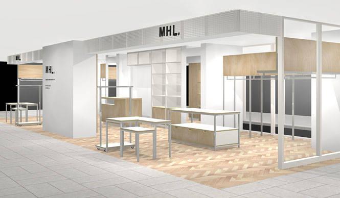 有楽町ルミネと舞浜イクスピアリに「MHL.」のショップが誕生|MARGARET HOWELL