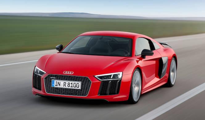 アウディ、新型R8を公開|Audi