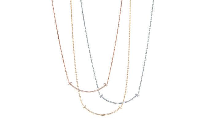 Tiffany & Co. 「ティファニー Tスマイル ミニ ペンダント」を日本先行発売
