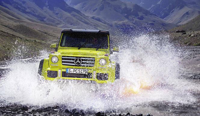 メルセデス・ベンツ、G 500 4x4²をジュネーブで初披露|Mercedes-Benz