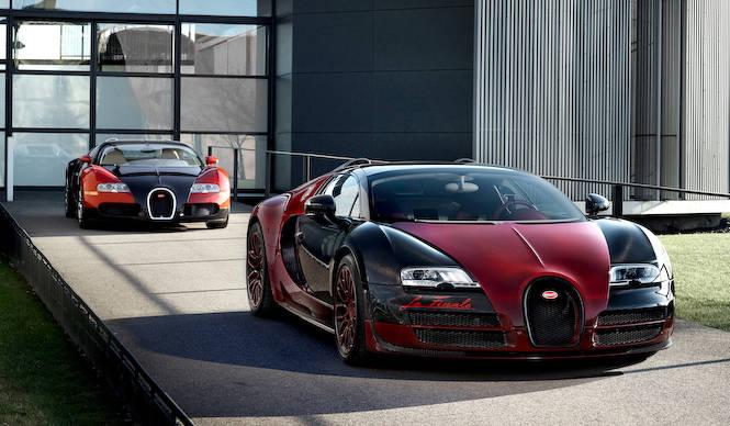 はじまりとおわりのヴェイロンを展示 Bugatti