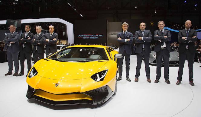 ジュネーブモーターショーの現場から:ランボルギーニ篇|Lamborghini