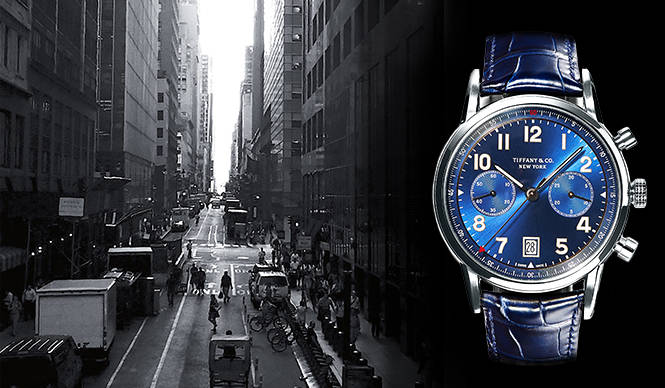 あらたな時計コレクションの歩みをスタート TIFFANY & CO.