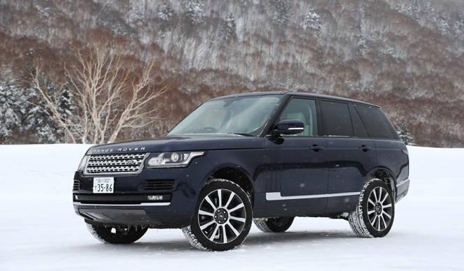 最新レンジローバーでスノーロードを駆ける|Range Rover