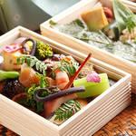 EAT|ハイアット リージェンシー 京都が華やかな春を詰めて送り出す、行楽弁当とスイーツ
