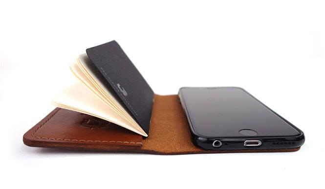 米・ポートランド生まれのブック型レザー製iphoneケース「the GOOD book」|RED CLOUDS COLLECTIVE