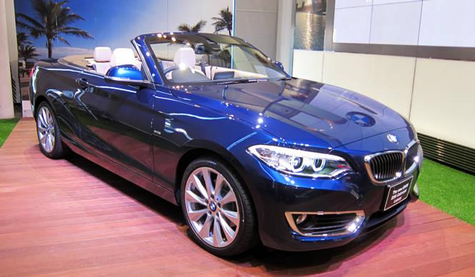 BMWの新型「 2 シリーズ カブリオレ」が日本上陸 BMW