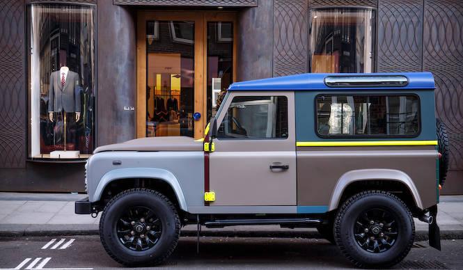 ポール・スミス氏の特別なランドローバー|Land Rover