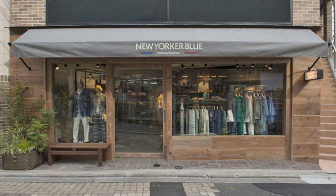 ブランドデビュー1周年を迎え、「NEWYORKER BLUE」原宿店がオープン|NEWYORKER