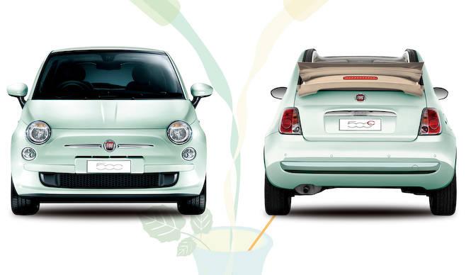 フィアット500にさわやかなミントグリーンの特別仕様車|Fiat