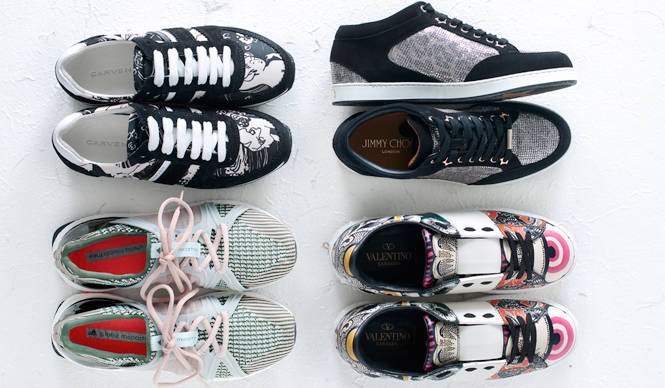 SNEAKERS FOR SPRING スニーカーで叶えるスポーティモード