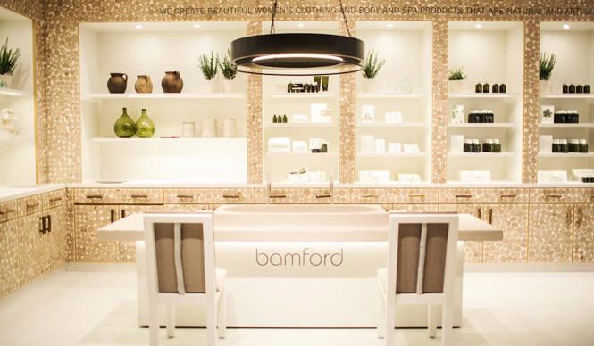 バンフォード、日本初の旗艦店が東京ミッドタウンにオープン|bamford