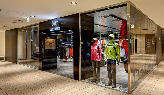 西日本初の直営店「アークテリクス 大阪E-ma店」がオープン|ARC'TERYX