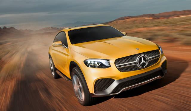 メルセデス・ベンツ、GLK改めGLCのクーペ版を公開|Mercedes-Benz