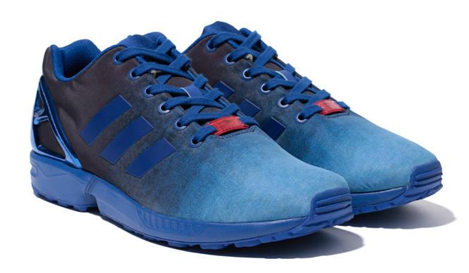 ユナイテッドアローズ&サンズとのモデル「ZX FLUX INDIGO UAS」が登場 adidas Originals