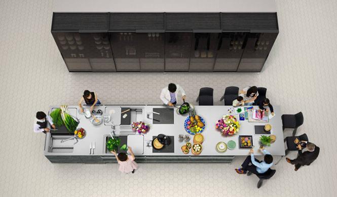 全長約6.5メートルの巨大キッチン「MEGA KITCHEN」の取り扱いを開始 TOYO KITCHEN STYLE