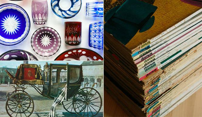 建築・デザインの本とオールド切り子の蚤の市「コレクションマーケット」 METROCS