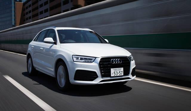 マイナーチェンジした新型アウディQ3に試乗 Audi