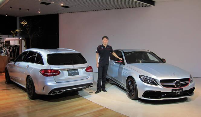 Cクラスのフラグシップ、新型「メルセデス AMG C63」が日本デビュー Mercedes-Benz