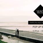 パリのサーフブランド「ウェイト」の期間限定ショップが開催中 WAIT