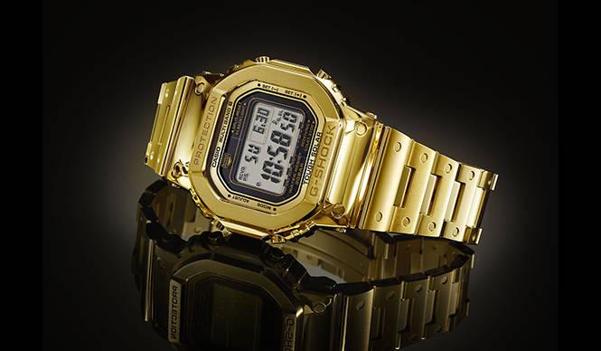 世界に1本しかない金無垢G-SHOCKをISHIDA表参道で展示|CASIO G-SHOCK