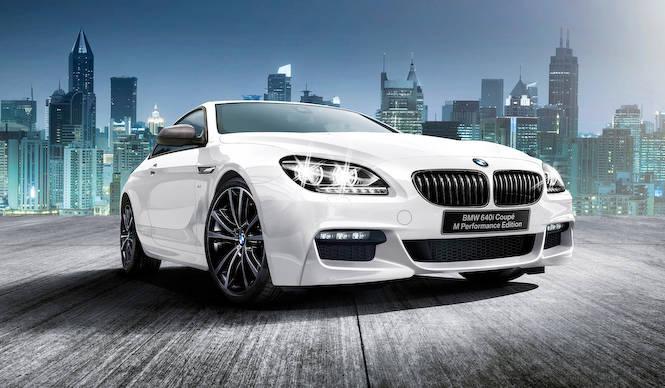 レース車両をイメージした6シリーズの特別仕様車 BMW