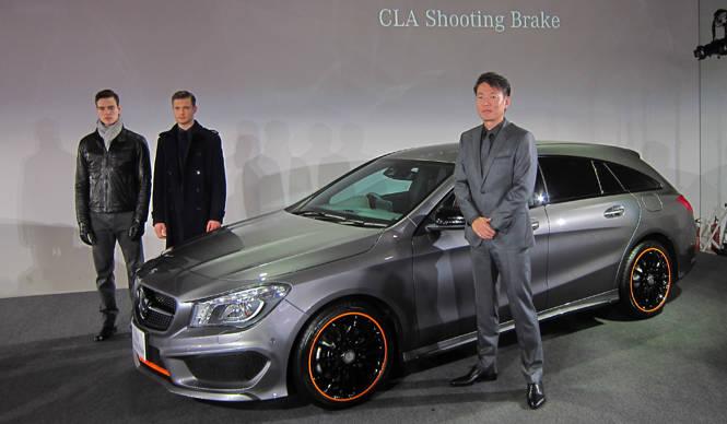 メルセデス・ベンツ CLA シューティングブレーク、日本上陸|Mercedes-Benz