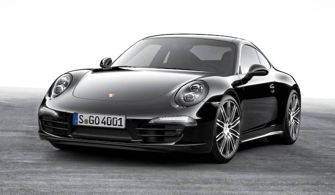 ポルシェ911とボクスターにブラックエディション登場 Porsche