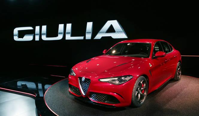 アルファ ロメオ ジュリアがワールドプレミア|Alfa Romeo
