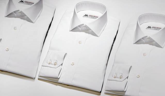 英国の老舗「トーマスメイソン」社の生地で作ったフェアファクスのドレスシャツ|FAIRFAX