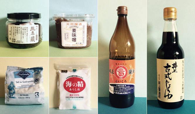 連載・藤原美智子 2015年6月 本物の塩と醤油と味噌は、美と健康の基本のキ!