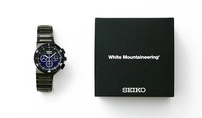 ジウジアーロの傑作「ホワイトマウンテニアリング」別注で700本販売|SEIKO