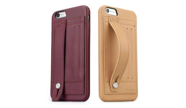 「iPhone 6 Plus」を片手でもちやすくする本革製保護ケース|TUNEWEAR