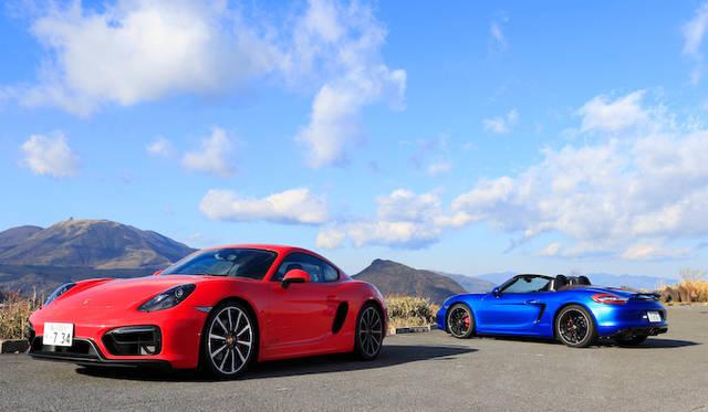 試乗、ボクスターGTS&ケイマンGTS|Porsche